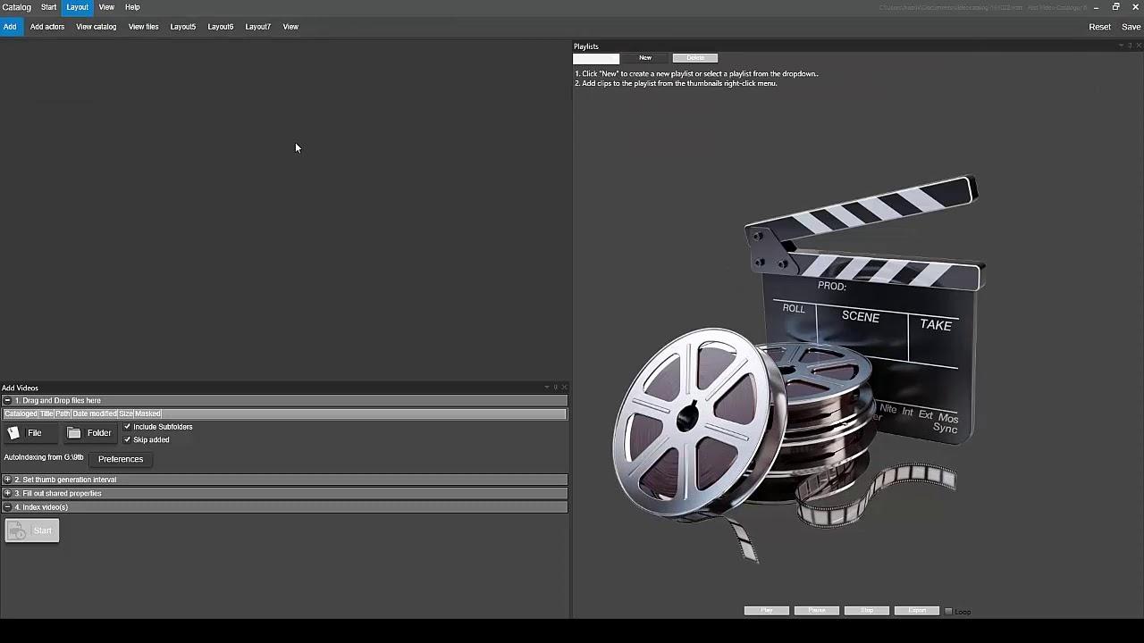 Fast Video Cataloger Registration key