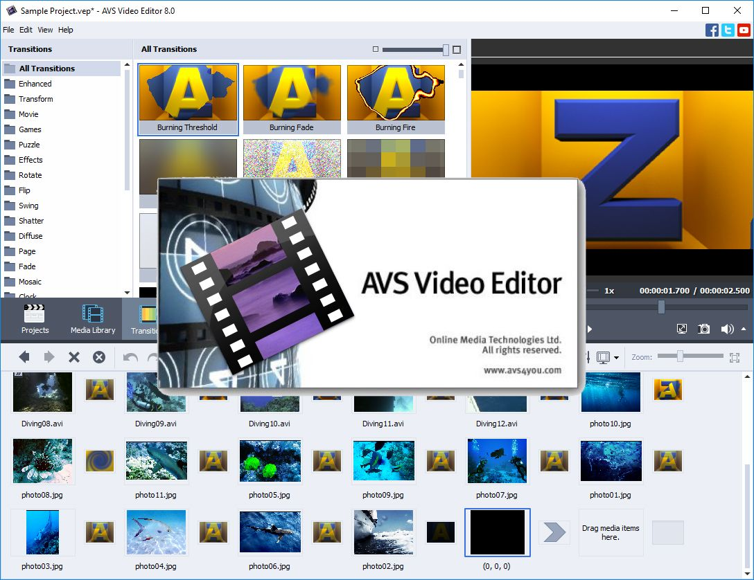 AVS Video Editor Registration Key