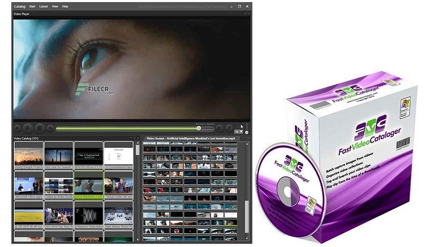 Faster video cataloger Crack